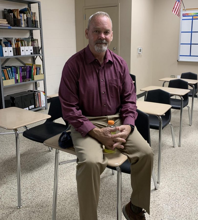 Mr. Yetter is enjoying his first year teaching at CHHS.